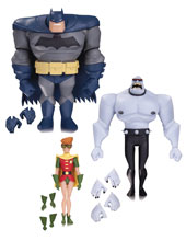 Image: New Batman Adventures Action Figure 036: Batman / Robin / Mutant Leader  - DC Comics