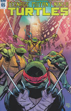 Image: Teenage Mutant Ninja Turtles #65 (incentive cover - Garry Brown) (10-copy)  [2016] - IDW Publishing