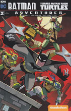Image: Batman / Teenage Mutant Ninja Turtles Adventures #2 (incentive cover - Chad Thomas) (10-copy)  [2016] - IDW Publishing