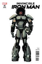 Image: Invincible Iron Man #2 (Deodato variant cover - 00221)  [2016] - Marvel Comics
