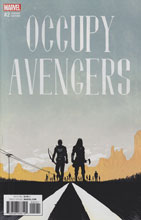 Image: Occupy Avengers #2 (variant cover - Shalvey) - Marvel Comics