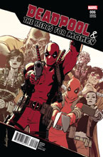Image: Deadpool & the Mercs for Money #6 (Lopez variant cover)  [2016] - Marvel Comics