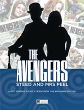 Image: Avengers: Steed & Mrs Peel - The Comic Strips From Diana Magazine 1966-67 SC  - Big Finish