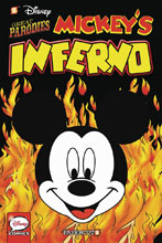 Image: Disney Graphic Novel #4: Great Parodies - Mickey's Inferno HC  - Papercutz