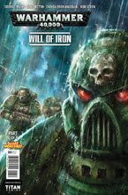 Image: Warhammer 40,000: Will of Iron #3 (cover A - Percival)  [2016] - Titan Comics