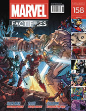 Image: Marvel Fact Files #158 (Iron Man cover) - Eaglemoss Publications Ltd