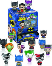 Image: Pint-Sized Heroes DC Heroes 24-Piece Blind Mystery Box Figure Display  - Funko