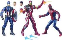 Image: Captain America 3: Civil War Legends Action Figure 3-Pack Case  (6-inch) - Hasbro Toy Group
