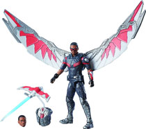 Image: Captain America: Civil War 3-3/4-inch Legends Falcon Deluxe Action Figure Case  - Hasbro Toy Group