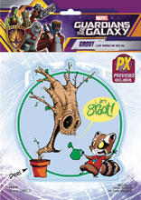 Image: Marvel Heroes Vinyl Decal: Groot by Young  - Elephant Gun, LLC