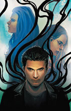 Image: Angel Season 11 #12 (variant cover - Stephanie Hans) - Dark Horse Comics