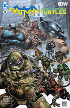 Image: Batman / Teenage Mutant Ninja Turtles II #2  [2017] - DC Comics/IDW