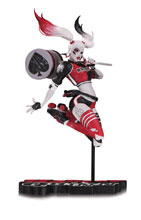 Image: Harley Quinn: Red White & Black Statue by Babs Tarr  - DC Comics