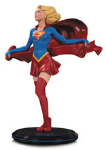 Image: DC Cover Girls Statue: Supergirl by Joelle Jones  - DC Comics