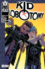 Image: Kid Lobotomy #3 (cover A - Fowler) - IDW - Black Crown