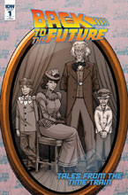 Image: Back to the Future: Tales From the Time Train #1 (incentive cover - Alan Robinson) (10-copy) - IDW Publishing