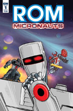 Image: Rom & the Micronauts #1 (cover A - Wentworth) - IDW Publishing