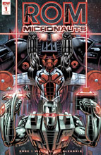 Image: Rom & the Micronauts #1 (incentive cover - Guy Dorian) (20-copy) - IDW Publishing