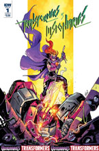 Image: Transformers vs. The Visionaries #1 (cover A - Ossio) - IDW Publishing