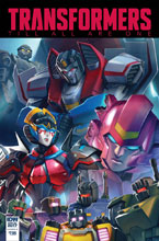 Image: Transformers: Till All Are One Annual 2017  (cover A - Pitre-Durocher) - IDW Publishing