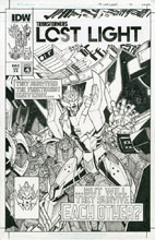 Image: Transformers: Lost Light #13 (cover C - artist ed. Milne) - IDW Publishing