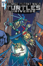 Image: Teenage Mutant Ninja Turtles Universe #17 (incentive cover - Tony Shasteen) (10-copy) - IDW Publishing