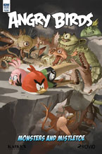 Image: Angry Birds Comics Quarterly  (cover B - Sandoval) - IDW Publishing