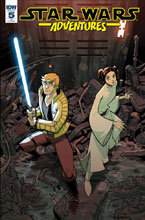 Image: Star Wars Adventures #5 (incentive cover - Jon Sommariva) (10-copy) - IDW Publishing