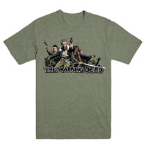 Image: Walking Dead T-Shirt: 2017 Ensemble  (XL) - Image Comics