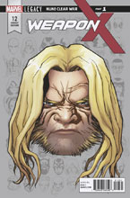 Image: Weapon X #12 (Legacy) (variant cover - McKone Legacy Headshot) - Marvel Comics