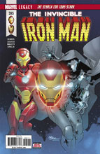Image: Invincible Iron Man #595 (Legacy)  [2017] - Marvel Comics