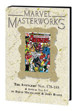 Image: Marvel Masterworks Avengers Vol. 18 HC  (DM variant cover) (258) - Marvel Comics