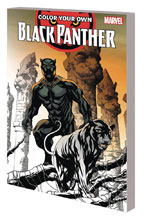 Image: Color Your Own - Black Panther SC  - Marvel Comics