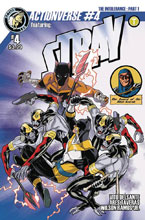 Image: Actionverse #4 (Stray) (cover A - Izaakse) - Action Lab Entertainment