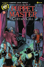 Image: Puppet Master: Curtain Call #3 (cover A - Logan) - Action Lab - Danger Zone