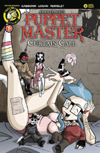 Image: Puppet Master: Curtain Call #3 (cover C - Mendoza Dollface cover) - Action Lab - Danger Zone