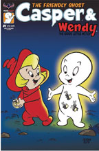 Image: Casper and Wendy #1 (variant cover - Ropp Best Friends) - American Mythology Productions