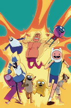 Image: Adventure Time / Regular Show #5 (subscription cover - Di Nicuolo) - Boom! Studios