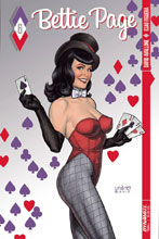 Image: Bettie Page #6 (cover A - Linsner) - Dynamite