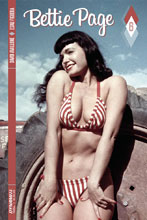 Image: Bettie Page #6 (cover C - Photo) - Dynamite