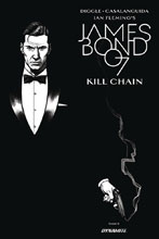 Image: James Bond: Kill Chain #6 (cover B incentive - Smallwood B&W) (10-copy) - Dynamite