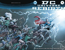 Image: Universe Rebirth #1 (DFE variant cover  - Dynamic Forces