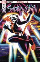 Image: Spider-Gwen #25 (DFE signed Silver - Romita Sr) - Dynamic Forces