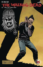 Image: Walking Dead #173 (DFE Haeser Jesus Head Sketch) - Dynamic Forces