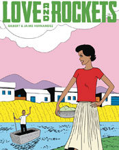 Image: Love & Rockets Magazine #4 - Fantagraphics Books