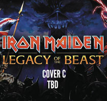 Image: Iron Maiden: Legacy of the Beast #3 (cover C - Gorder) - Heavy Metal Magazine