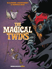 Image: Magical Twins Deluxe HC  - Humanoids Inc