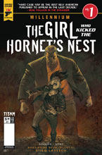 Image: Millennium: Girl Who Kicked the Hortnet's Nest #1 (cover B - Book) - Titan Comics