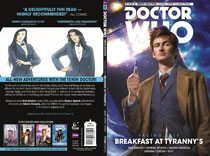 Image: Doctor Who: The 10th Doctor - Facing Fate Vol. 01: Breakfast at Tyrannys SC  - Titan Comics