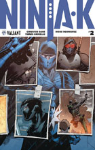Image: Ninja-K #2 (cover A - Hairsine) - Valiant Entertainment LLC